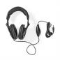 Mobile Preview: Nedis HPWD3200BK Over-Ear-Kopfhörer | Verkabelt 2,50 m | Schwarz