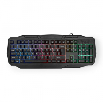 Gaming-Set | 4-in-1 | Tastatur, Headset, Maus und Mousepad | Deutsches Layout