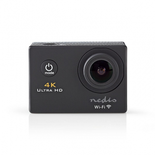 Nedis ACAM40BK Action-Kamera | Ultra HD 4K | WLAN